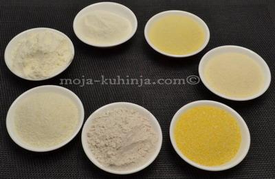 Razne vrste brašna