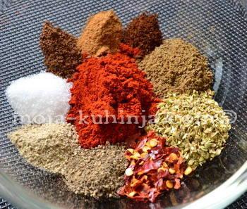 Začini za chili con carne