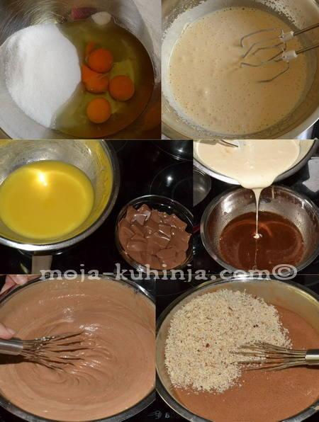 Priprema čokoladne kreme