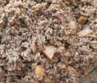 rižoto od sipe