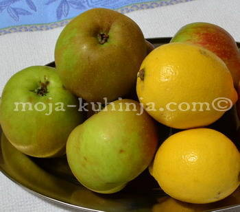 Jabuke boskop i limun