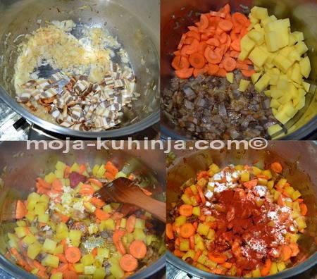 Priprema kelj čušpajza