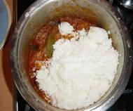 Đuveč priprema riže