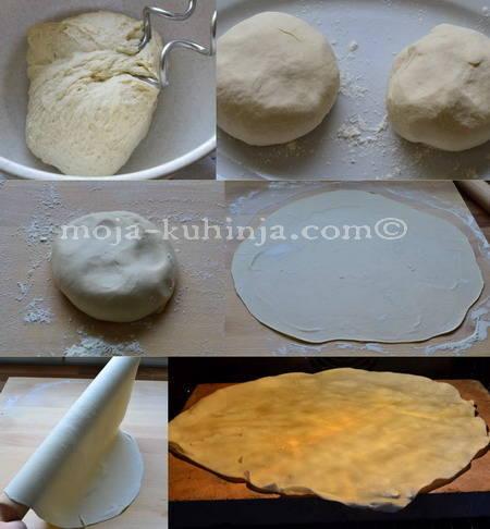 Priprema tortilja u pečnici