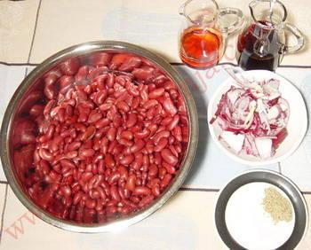 Grah salata sa bučinim uljem sastojci