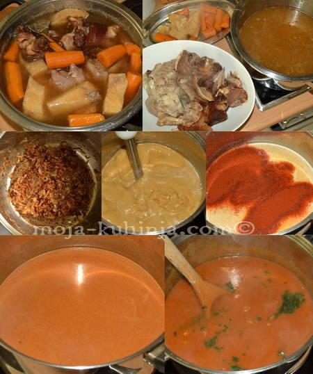 Kuhanje grah čušpajza, variva od graha