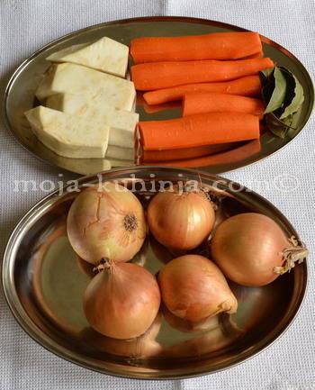 Povrće za grah čušpajz, varivo