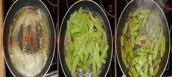 Grašak šećerac na putru sa balsamico octom dinstanje
