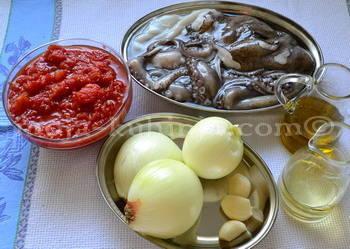Hobotnica, šalša, maslinovo ulje