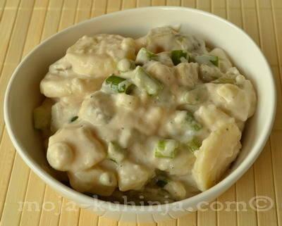 Gurmanska krumpir salata