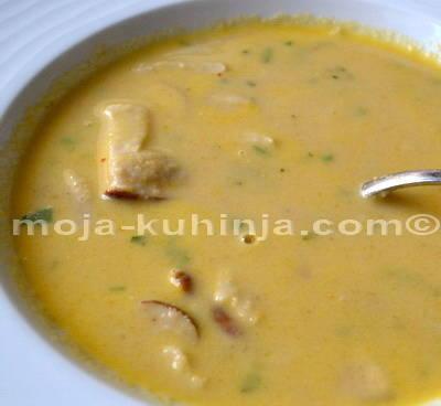 Gusta, krem juha od kestena sa vrganjima