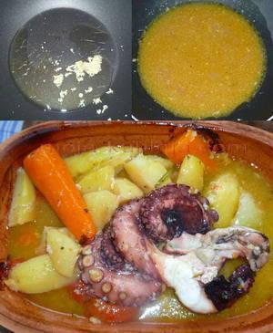 ovako se peće hobotnica s krumpirom