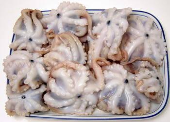 Salata od hobotnice sastojci