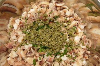 Salata od hobotnice priprema