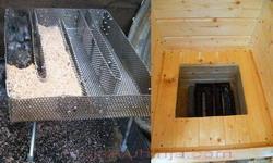 Žičano ložište za tinjanje piljevine
