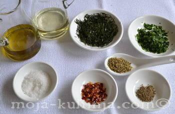 Maslinovo ulje, komorač, origano