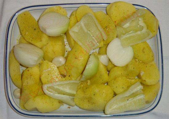 janjetina ispod peke povrće