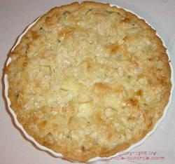 Kolač od jabuka pečeno