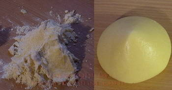 Kolač od sira priprema  tijesta