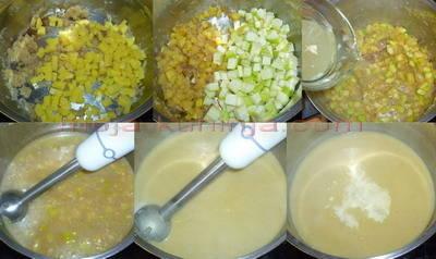 Priprema krem juhe od tikvica