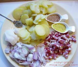 Krumpir pečen u tavici na zagorski način sastojci