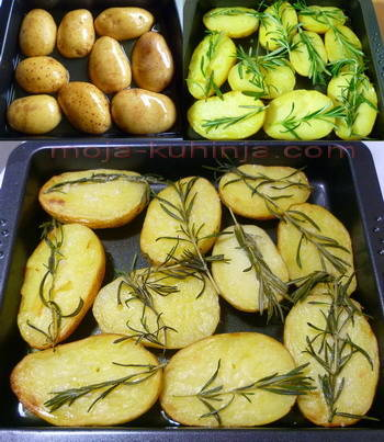 Priprema pola od krumpira