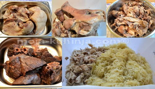 Kuhano meso za krvavice