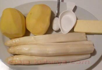 Bijele šparoge i krumpir