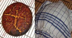 Kukuruzna pogača pečeno