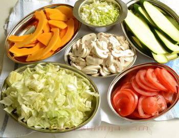 Namirnice za vegetarijanske lazanje