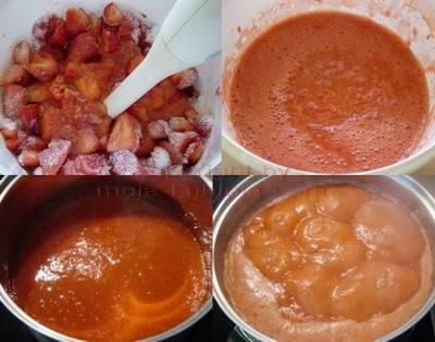 Spremanje pekmeza od jagoda
