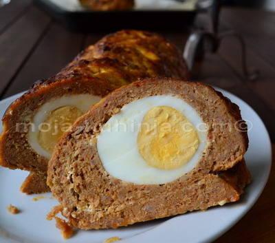 Mesna štruca, rolada sa jajima, Štefani pečenje
