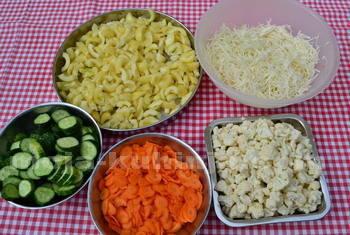 Ukiseljeno mješano povrće sastojci