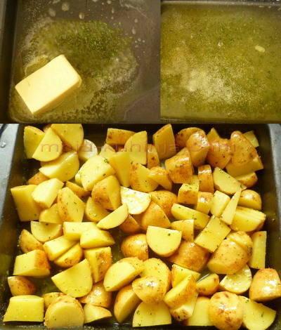 Priprema pečenog mladog krumpira sa ružmarinom