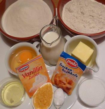 mliječna pletenica sastojci
