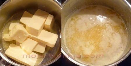 Maslo proizvodnja; topljenje maslaca