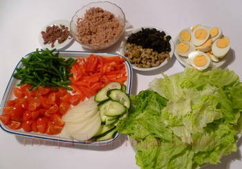 nica, nizza salata sastojci