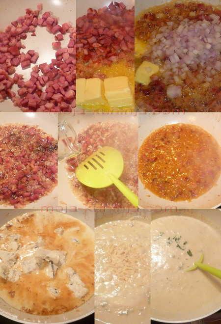 Priprema umaka od gorgonzole