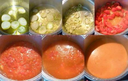 Kuhanje juhe od rajčica