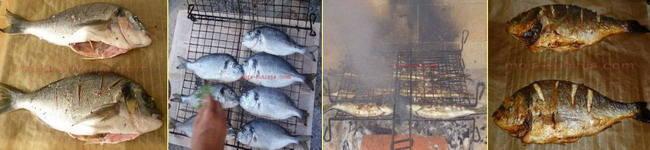 Pečenje ribe na roštilju i u pećnici