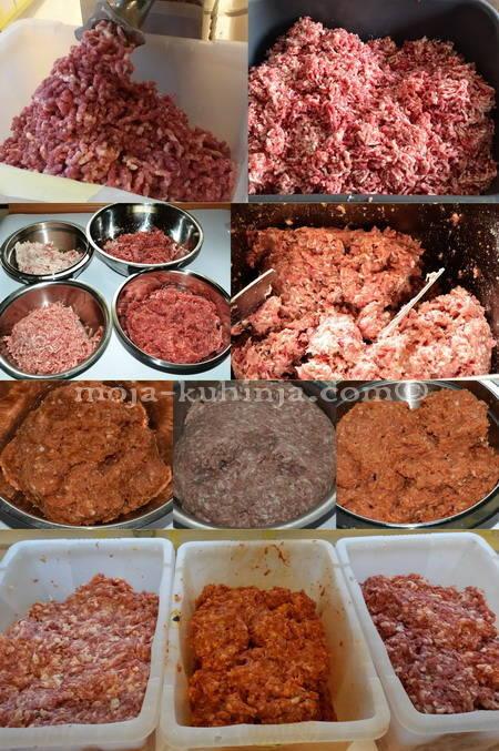 pečenice mljeveno meso