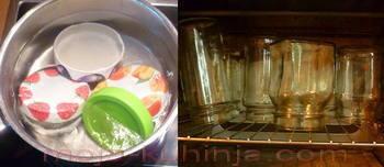 steriliziranje boćica i šarafa