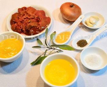 Sastojci za pileću jetrenu paštetu
