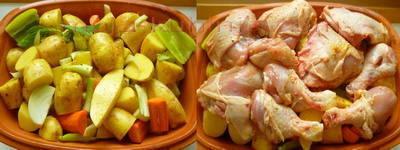 Piletina sa krumpirom u glinenoj zdjeli