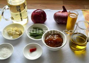 Piletina u umaku od vina i smokvi sastojci