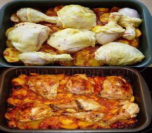 piletina sa krumpirom ala zigeuner pečeno