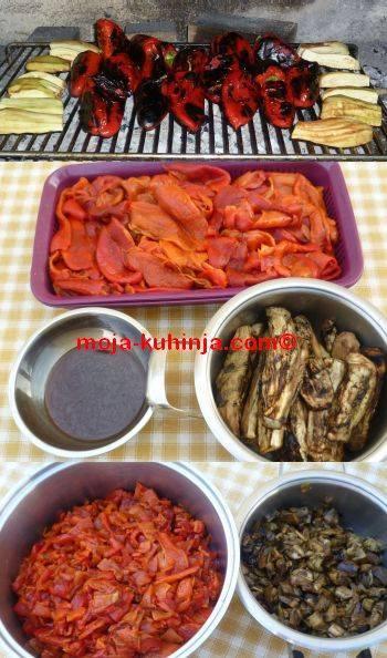 Pečenje paprika i patliđana