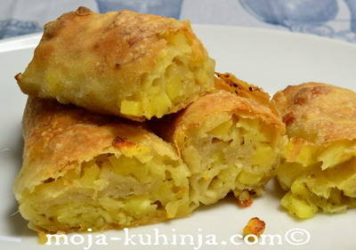 Pita od krumpira, krumpiruša