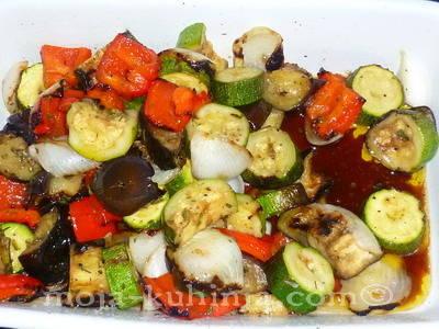 Povrće sa žara - Ražnjići sa povrćem