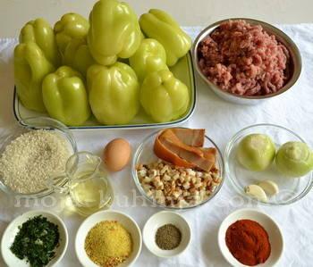 punjena paprika sastojci